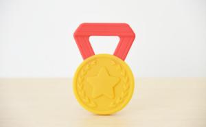 はじめてのメダル